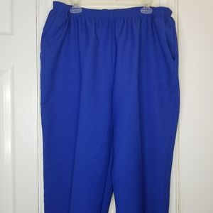Alfred Dunner Plus Size Cobalt Blue Pants